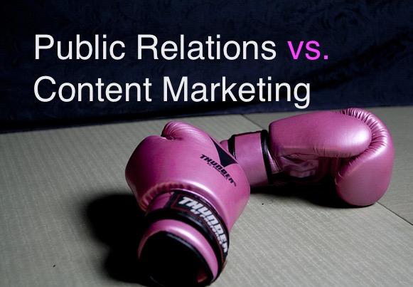 content marketing, public relations, PR